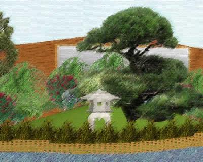 Zen Garden Artist Impression