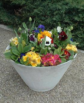 Container Garden Design container garden design the growing place Creative Container Garden Design Made Easy