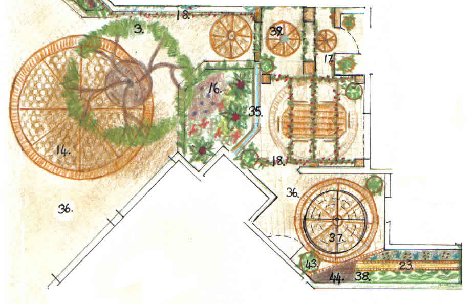 Download The Courtyard Garden Design Picture And ...