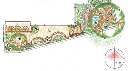 Japanese garden design for Design your own front yard
