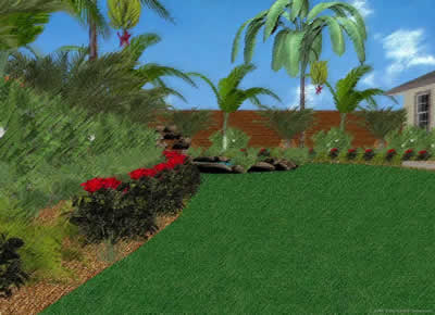 Tropical Garden Artist Impression