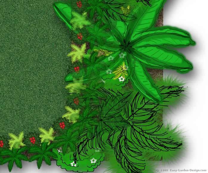 Tropawaii Tropical Garden Plan