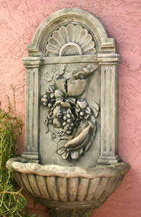 Photo Contest Prize - Vineyard Wall Fountain