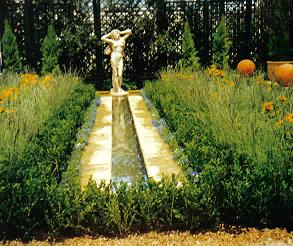 English Formal Garden Picture