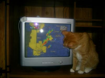 Im watching for severe weather in Arkansas!