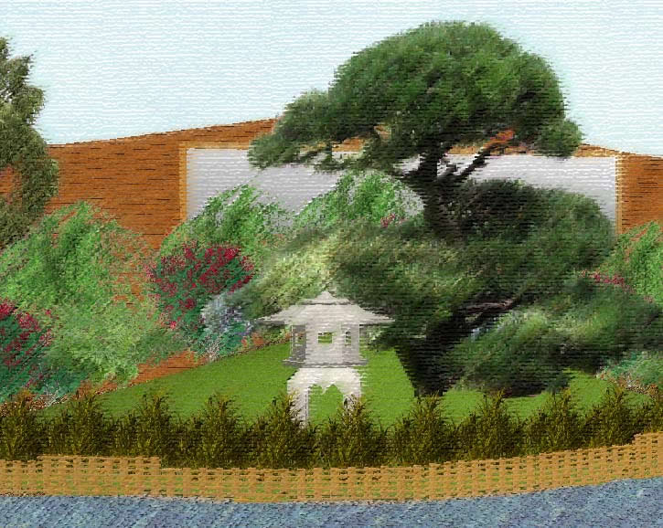 Zen Garden Designs amazing zen garden designs for wonderful house improvement afrozepcom Zen Garden Artist Impression
